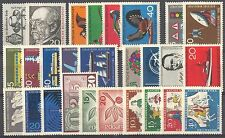 BUNDESPOST - 1965 complete year MNH