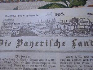 1840 Landbötin 108 / Aschaffenburg Isarkreis Orgeln Kirchenorgeln