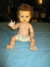 "Vintage American Character Tiny Tears Doll Circa 1950's 15"" Tall"