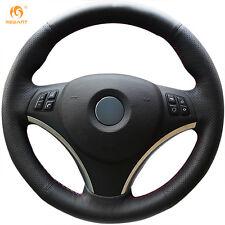 Leather Steering wheel Cover for BMW E90 320i 325i 330i 335i E87 120i 130i #BM03