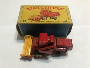 Matchbox Lesney # 65C, Claas Combine Harvester with original box