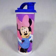 Tupperware Tumbler Disney Minnie Mouse Oh My! Flip Top Seal 16 oz Cup 5107L-3