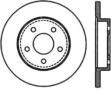 Disc Brake Rotor-Rear Disc Rear Right Stoptech 128.62079R