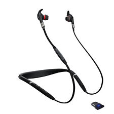 Jabra Evolve 75E MS Manufacturer Refurbished Wireless Audio Black  Wireless