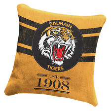 Balmain Wests Tigers NRL HERITAGE Cushion fabric Pillow Christmas Fathers Gift
