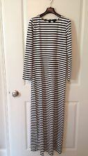 NWT J.Crew Striped Long Sleeve Maxi Dress Sz 4