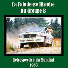 DVD Best of Gruppe B Group B Rallye Saison 1983 Audi Röhrl Quattro 037 APV 48TV