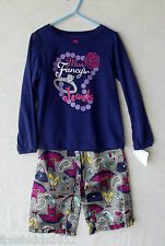 Carter's Purple/Multi 2pc Long Sleeve Pajama Set Girl size 5 NWT G82258