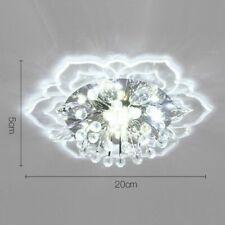 20cm 9W LED Luz de Techo Lámpara De Cristal Moderna Colgante Lámpara de Pasillo