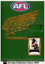 2013 Select AFL Prime Trading Cards Official Card Album (+Album Card) (No pages)