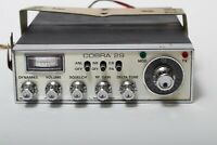 Vintage Cobra 29 Dynascan 23 Channel AM CB Transceiver Radio