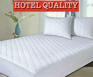 Luxury Quilted Extra Deep Mattress Protector, Hotel Quality Mattress Protector's