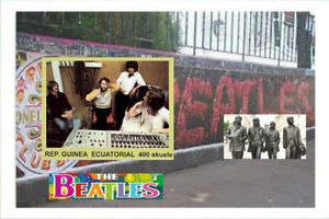 BEATLES - 12LUXE!  SHEETS private issue LIMITED EDITION!!!!