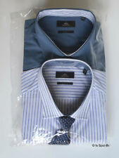 Striped Single Cuff Formal Shirts for Men with Multipack