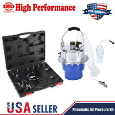 10 - 40 psi Pneumatic Air Pressure Kit Brake and Clutch Bleeder Valve System Kit