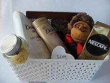 Pamper Treat Hamper for her Birthday Mothers Day Valentine Dove treats gift box