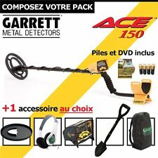 Garrett ACE 150 + 1 accessoire au choix sac à dos garrett