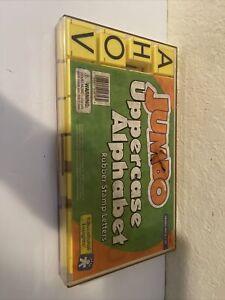 Educational Insights Jumbo Uppercase Alphabet Stamp Kit