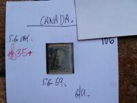 CANADA 15c STAMP SG 69  G/U PERF 12