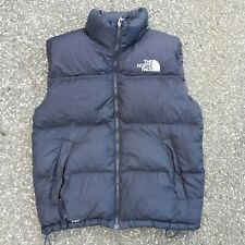 Mens The North Face 700 Down Puffer Vest Black 2006 Size Medium Nuputse