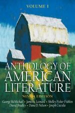 Anthology of American Literature, Vol. 1 by McMichael & Leonard, 9th Edition
