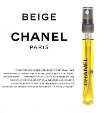 Les Exclusifs de Chanel Beige 12ml Eau de Parfum Travel Spray Perfume 0.40oz EDP