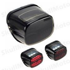 Bar LED Brake Tail Light License Plate Bulb For Harley Fatboy Lo FLSTF FLSTFB