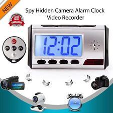 Digital Clock Hidden Camera Alarm Spy DVR/USB Motion Alarm Recorder Camcorder TR