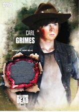 The Walking Dead Season 5 Costume Relic Card Carl Grimes