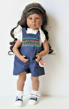 Good Kruger Dolls #4690 Vinyl Cloth Doll African American Collectible Rare