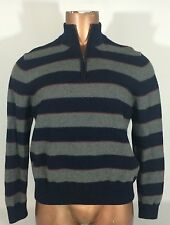 BROOKS BROTHERS 100% Merino Wool Multi-Color 1/2 Zip Pullover Sweater Men's XL