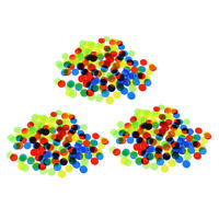 300 Pieces Plastic Bingo Chips Counters Counting Tokens Game Game Accessory
