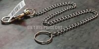 Chunky Extra Strong Long Chain Keyring With Belt Clip Metal