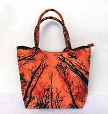 Forest Tree Shoulder Bag Women's Beach Towel Bags Cotton Tie Dye Throw Handbags