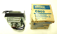 NEW IN BOX BROAN C903 LOW VOLTAGE TRANSFORMER