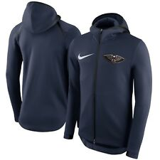 Nike New Orleans Pelicans  NBA 2017 THERMA Flex Showtime Hoodie Mens -Large
