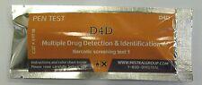 D4D pentest - CANNABIS, AMPHET, KETAMINE, HEROIN HOME DRUG SCREENING TEST KIT