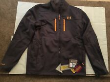 NEW Under Armour Mens Storm Cold Gear Infrared Gray Softshell Jacket 1247045 XL