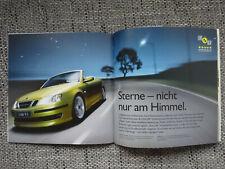 Saab 9-3 Cabriolet Prospekt Modell 2007 Brochure Deutsch German