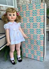"30"" Little Girl Toodles American Character Playpal Doll  W/Original Outfit & Box"