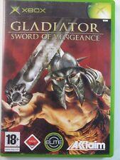 !!! Xbox Classic Jeu Gladiateur Sword Vengeance USK 18, Gebr. mais bien/OK!!!