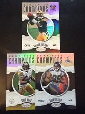 2017 PANINI CERTIFIED CERTIFIED CHAMPIONS 3 CARD INSERT LOT
