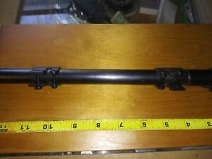 Authentic Vintage Mossberg NO. M4D 1940's-50's Rifle Scope With Mount