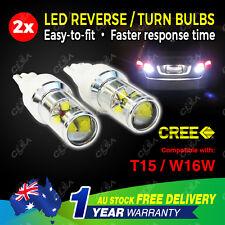 2PCS 12V 24V 60W LED CREE T15 W16W Car Reverse Turn Signal Backup Light bulb