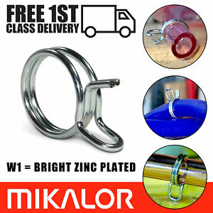 Double Wire Hose Clips Spring Fuel Clamps | Silicone Pipe Air Band Vacuum Tube