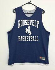 Nike reversible Roosevelt Basketball blue & white practice jersey - Iowa Hs?