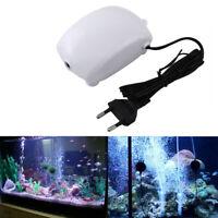 Fish Aquarium Air Pump Single 1.8 L/min 2.5 W Hydroponic Oxygen Bubble Pump 220V