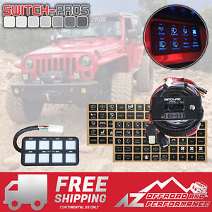 Switch-Pros SP-9100 Universal 8 Switch Wiring System Truck✔ Jeep✔ UTV✔ Boat✔