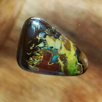 Amazing 13.85CT #VIDEO Side Drilled Australian Queensland Boulder Opal