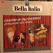 VARIOUS • Canzoni In Palcoscenico • Vinile Lp Raccolta • 1990 EMI BELLA ITALIA